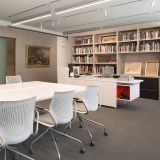 Cranbrook Art Museum Media Library with Antenna Workspaces