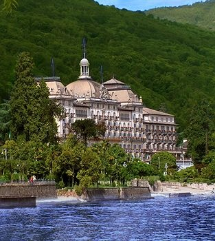 Grand Hotel Des Iles Borromees, Stresa, Italy --Stayed here and loved it, fabulous hotel and view!