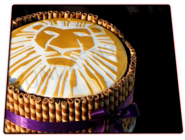 Fondastisch - Fondant Kuchen und Torten: König der Löwen Geburtstagstorte