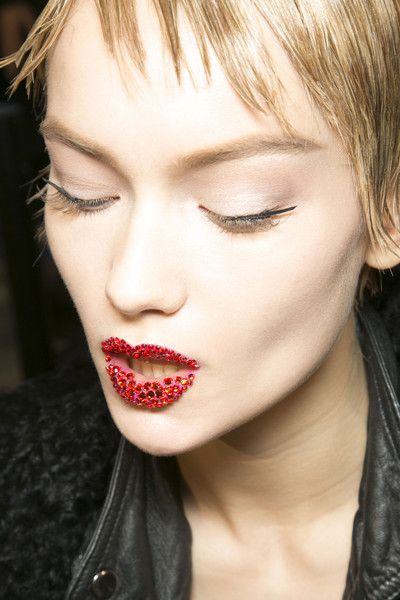 Makeup at Christian Dior S/S 2013, Couture