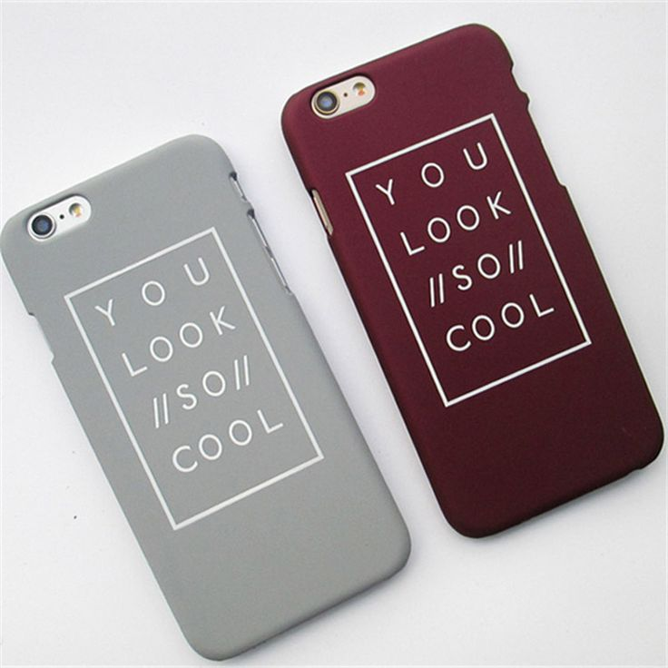 2016 Fashion Funda Letter Case Matte Hard Cover Capa Para Carcasas Coque Funda Hoesje For iPhone 6 6s 6 plus 5 5s Plastic Case-in Phone Bags & Cases from Phones & Telecommunications on Aliexpress.com | Alibaba Group