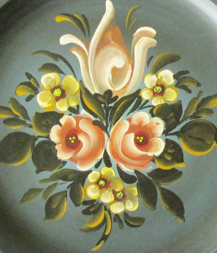 Bauern Plate Wall Hanging Beautiful by MyBeautifulBavaria