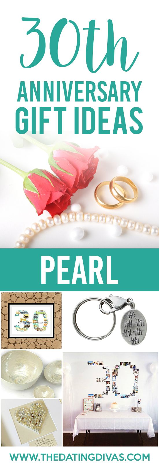 Thirty Wedding Anniversary Gift: 1000+ Ideas About Pearl Anniversary On Pinterest