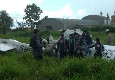 Um avião caiu, no início da tarde desta quinta-feira (5), em Tangará da Serra, no Mato Grosso. A...