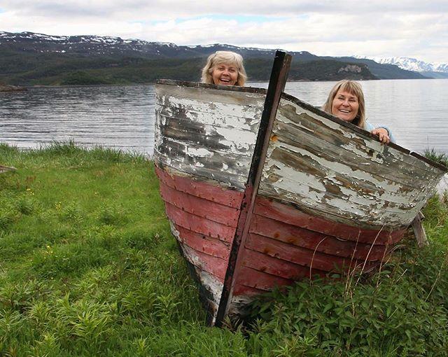 Blondes on a boat trip, blondiner på båttur ved Altafjorden#wonderlust #nrksommer #nrkfinnmark #blonde #visitnorway #visitfinnmark #alta #altafjorden #norwegen #fish #fishing #blondinen #boat #boating #angeln #norway #nofilter #fjord #fjords #photo #photography #photographer #fun #humor