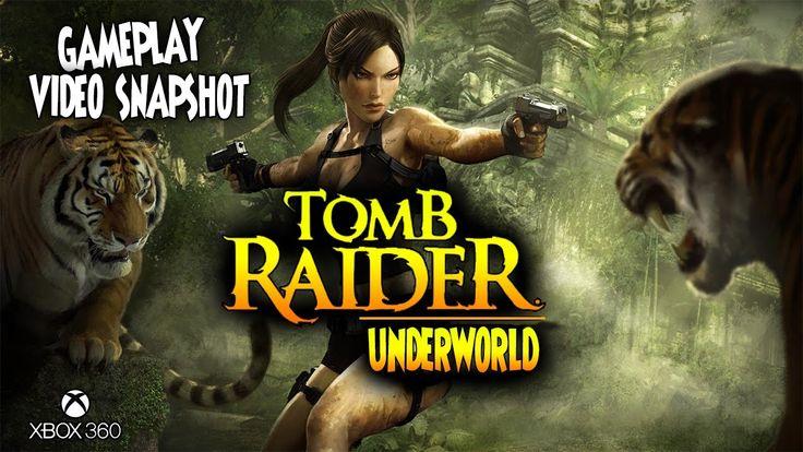 Tomb Raider:Underworld XBOX 360 Gameplay Video Snapshot 1080p 60fps