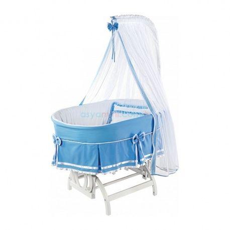 Baby Tech 213 Soylu Mavi Beşik