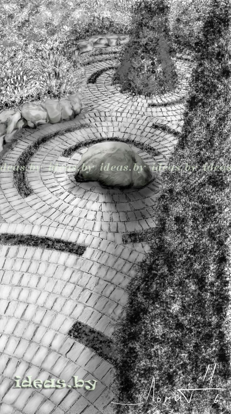 Landscape design#garden#sketch#artist Lomat Dima#
