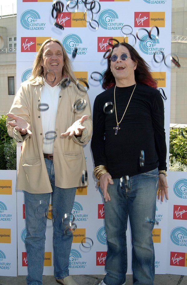 NICKO McBRAIN of IRON MAIDEN & OZZIE OSBOURNE.
