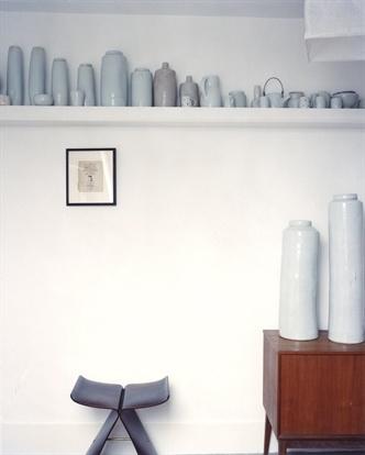 mono-toned vases; Edmund de Waal