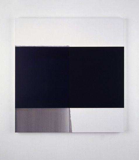 Exposed Painting Deep Violet (2005) - Callum Innes