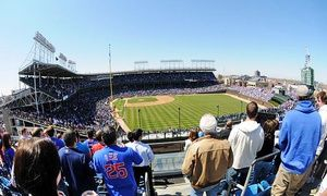 Groupon - Cubs Right-Field Rooftop Seating with Food and Drinks at Skybox on Sheffield (Up to 46% Off). 13 Sunday Games Available. in Skybox on Sheffield. Groupon deal price: $69