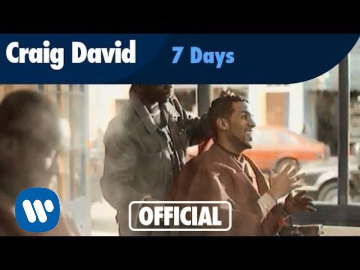Craig David - 7 Days (Official Music Video) // I wish there would be such thing in real life