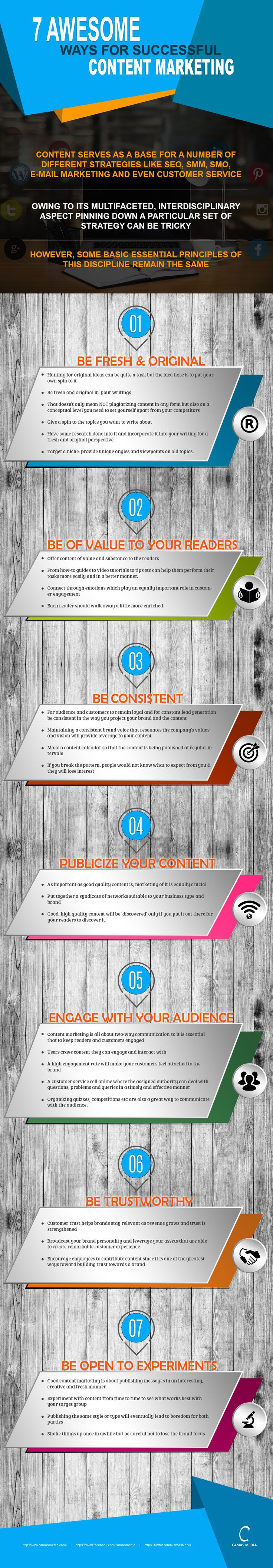 7 Must Follow Rules for #ContentMarketing Success