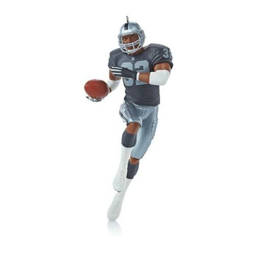 1 X Marcus Allen - Los Angeles Raiders 2013 Hallmark Ornament => To view further, visit now : Ornaments Home Decor