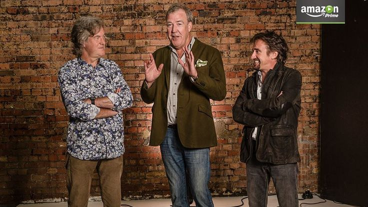 Amazon signs Top Gear's Clarkson, Hammond, and May for new Top Gear like show