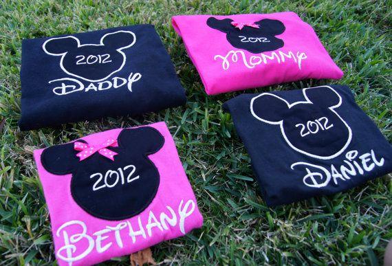 Disney mundo camisetas para la familia - Mickey & Minnie