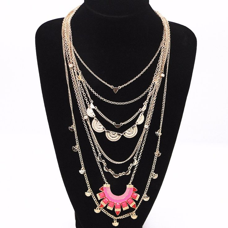 2016 Fashion Accessories Manufacturers Selling Exaggeration Red/blue Enamel Multilayer Statement Necklace Chain Maxi Necklace |  Get free shipping. Here we will provide the discount of finest and low cost which integrated super save shipping for 2016 fashion accessories manufacturers selling exaggeration red/blue enamel multilayer statement necklace chain Maxi necklace or any product promotions.  I think you are very lucky To be Get 2016 fashion accessories manufacturers selling exaggeration…