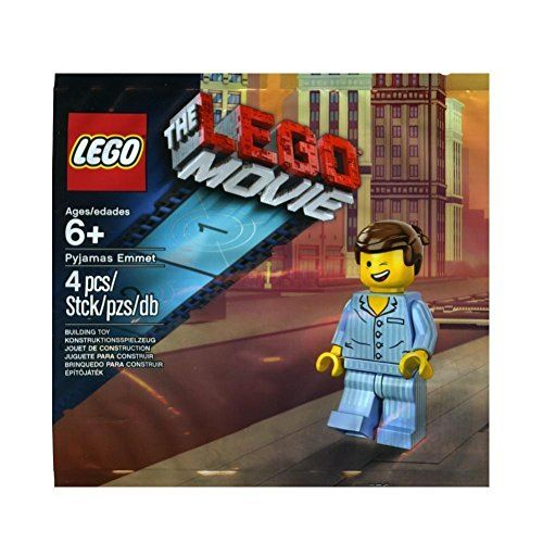 The Lego Movie Set  Pyjamas Emmet Minifigure 5002045 * Check this awesome product by going to the link at the image.