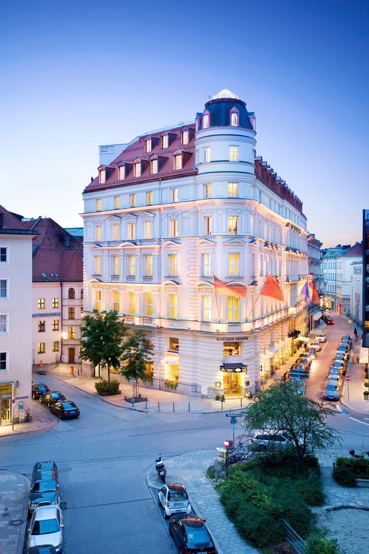 Epic Mandarin Oriental Munich Hotel is a luxury hotel tucked away in a side street yet centrally located near the famed Maximilianstrasse in Munich Germany