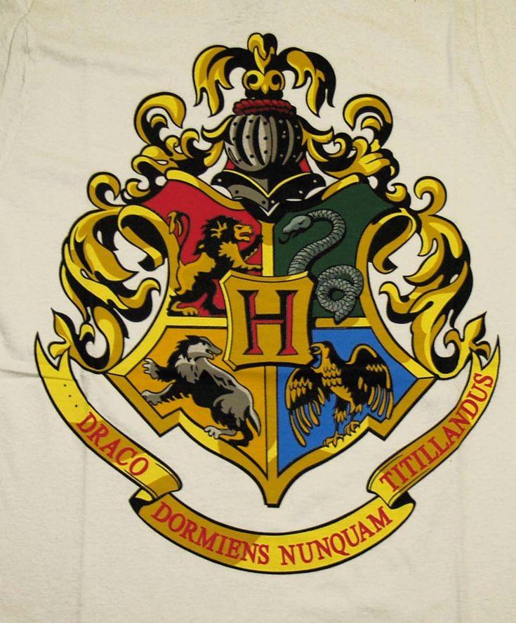 25 B Sta Hogwarts Crest Id Erna P Pinterest Hogwarts