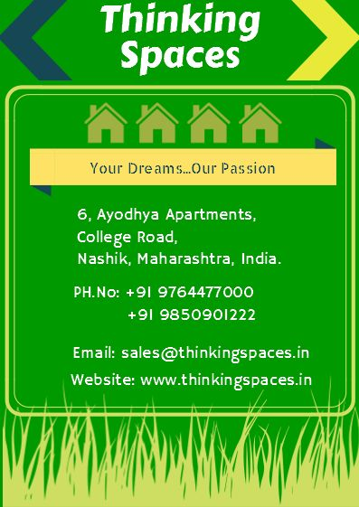 Thinking Spaces provides 10 reasons why you should invest in Nashik. Read full article here http://goo.gl/nH7Ts1  #realestateconsultant