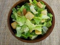 Years and years ago when my husband and I were just dating, my mother-in-law to be (at the time) taught me her famous classic caesar salad recipe.  I had always been told that caesar salad dressing was so incredibly fattening and that it was better to have a hamburger and fries than a caeser salad.…