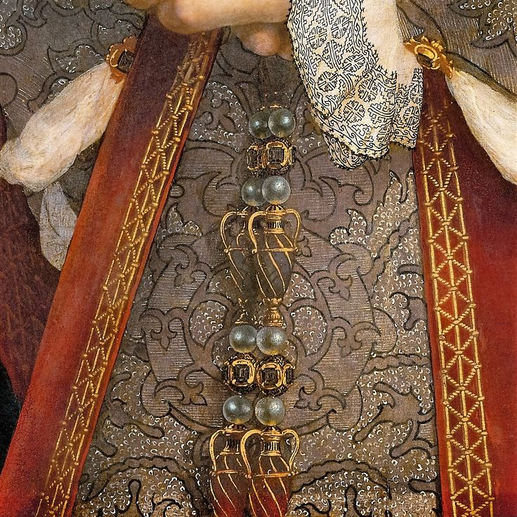 Portrait of Jane Seymour, Queen of England by Hans Holbein the Younger