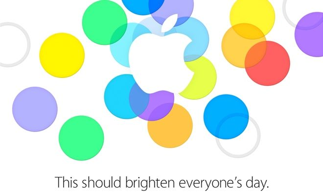 Apple promises to 'brighten everyone's day' at Sept. 10 iPhone announcement