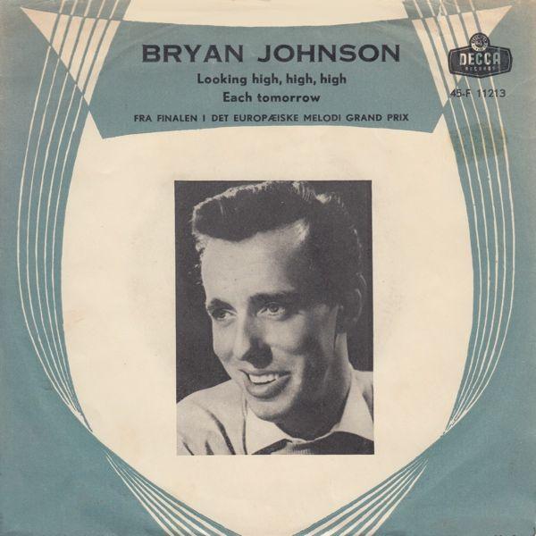 """Storbritaniens bidrag fra 1960 """"Looking High High High"""". B-siden er fra det engelske Grand Prix - meget romantisk. Dansk omslag."""
