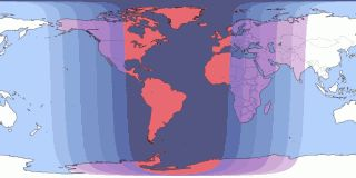 Eclipses visible in Washington DC, District of Columbia, U.S.A. - Sep 28, 2015 Lunar Eclipse