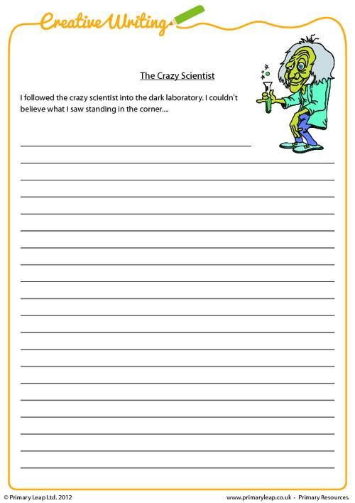 Creative writing services worksheets for grade 4