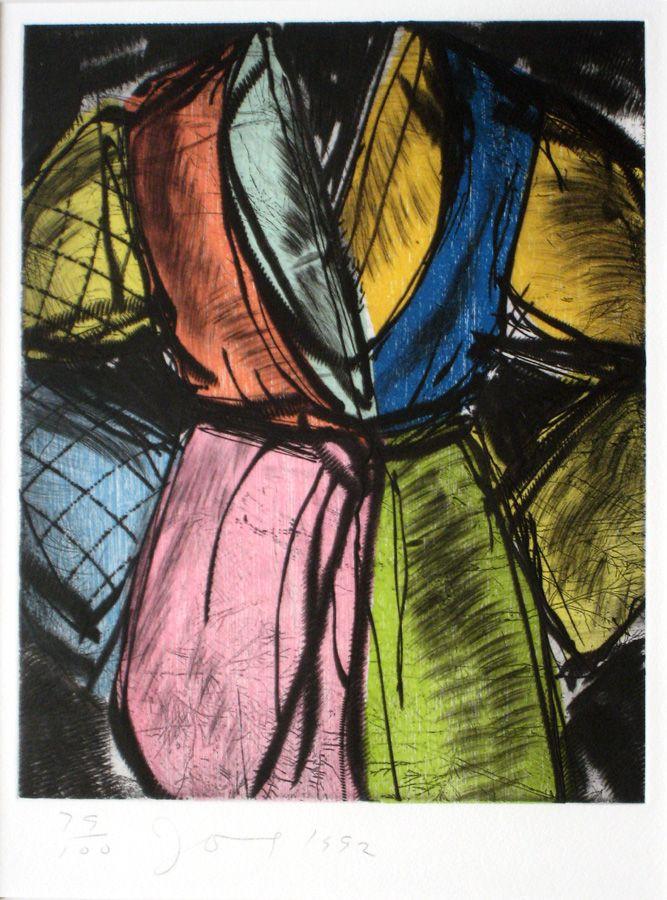 jim dine robe paintings | Jim Dine