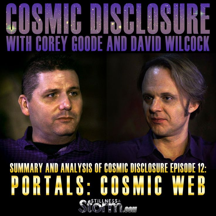 Stillness in the Storm : Summary and Analysis of Cosmic Disclosure Episode 12: Portals: Cosmic Web | Corey Goode and David Wilcock