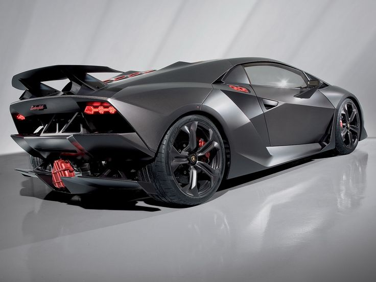 Lamborghini Sesto Elemento The All Carbonfibre Concept Car