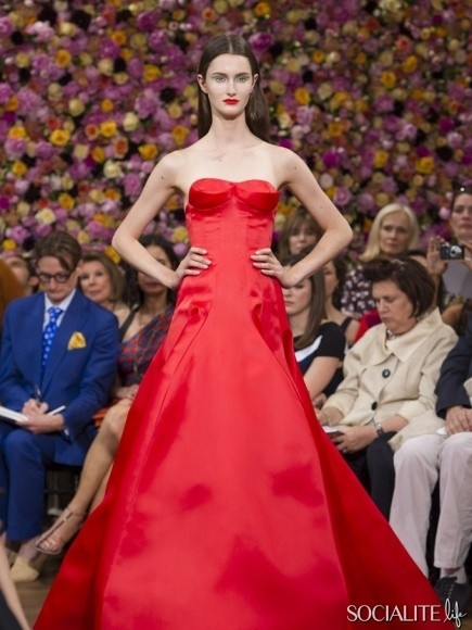 Christian Dior Haute Couture Paris Fashion Week Fall / Winter 2013