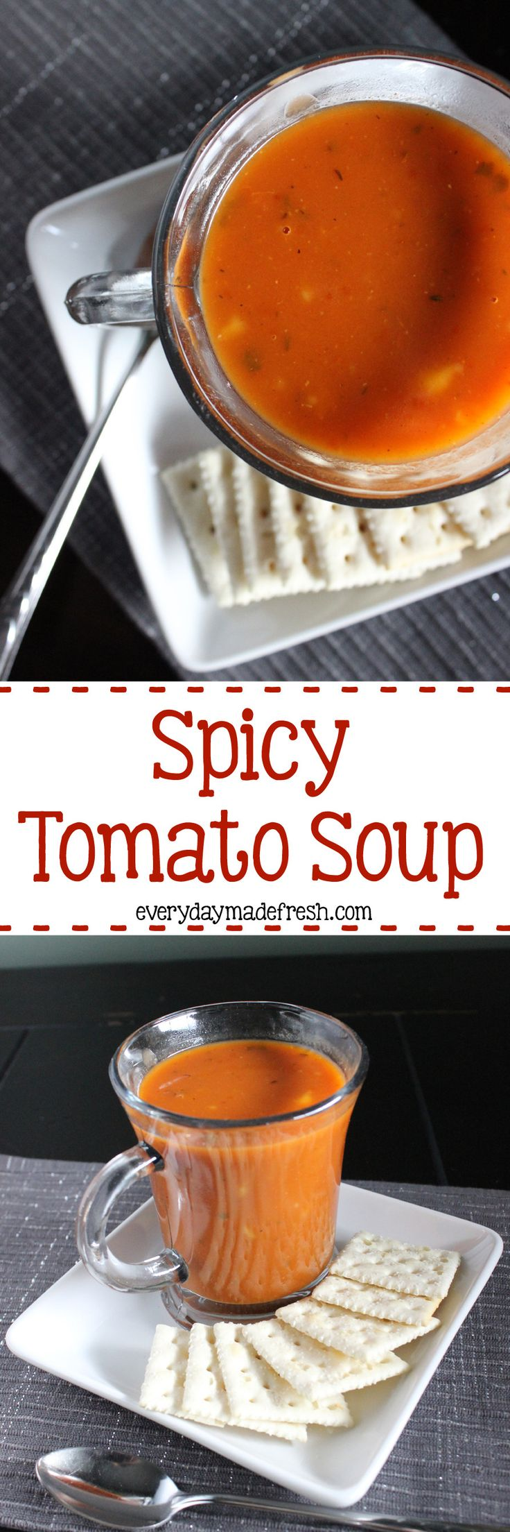Spicy Tomato Soup | Recipe | Tomato Soups, Be Ready and Spicy