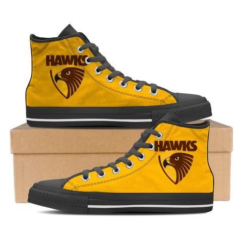 Hawthorn Hawks FC Women's High Top Shoes