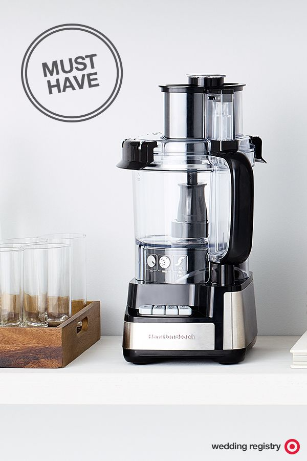 249 best wedding registry ideas images on pinterest kitchen yes you really do need a food processor on your wedding registry why solutioingenieria Image collections