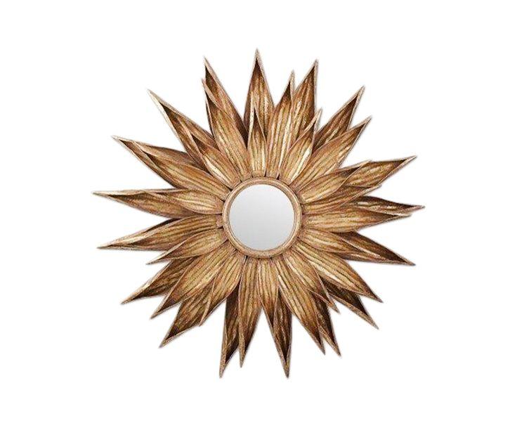 Зеркало Talisman - МДФ - золотой - Д92хШ7,5 | Westwing Интерьер & Дизайн