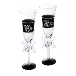 Copas de Champagne Mr & Mrs