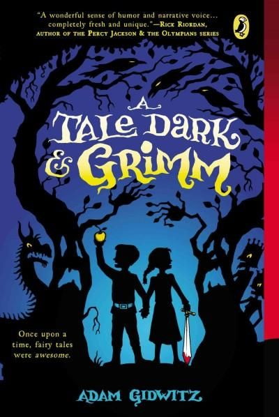 Hansel and Gretel walk out of their own story and into eight other classic Grimm (and Grimm-inspired) fairy tales. An irreverent, witty narrator leads us through encounters with witches, warlocks, dra