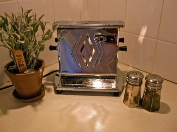 kitchen night light kitchen light vintage toaster upcycled toaster 2334