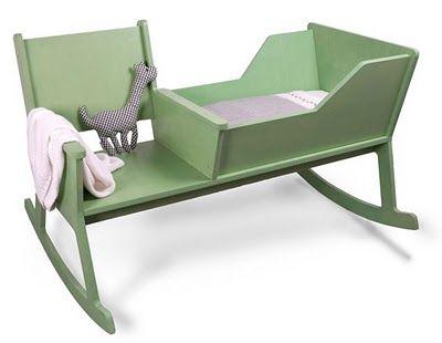 revista populares: Cuna y silla mecedora
