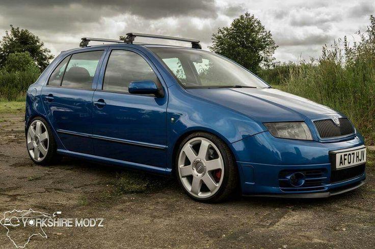 Fabia Vrs on Audi wheels