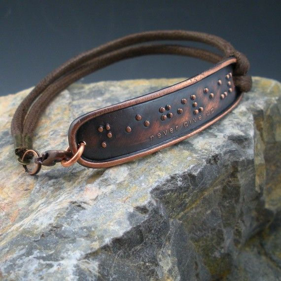 Brail bracelet. Simply gorgeous.