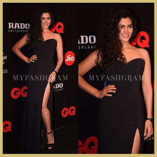 Saiyami Kher in Sassi Halford, GQ Best Dressed Awards 2017, MyFashgram
