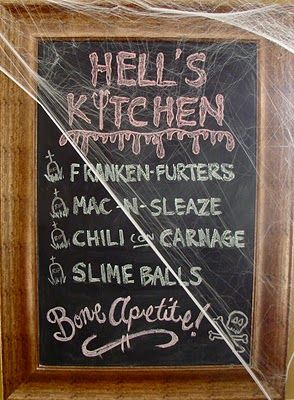 Halloween party and decorating ideas including this Spooktacular Menu!