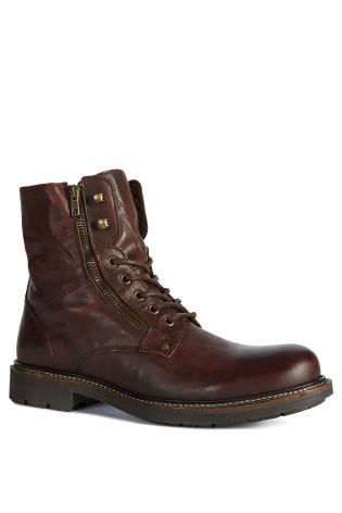 Buy Zip Lace-Up Boot from the Next UK online shop
