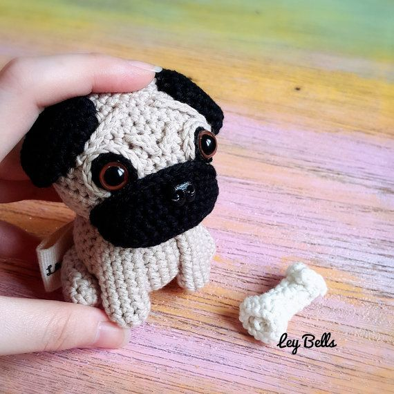 Free Crochet Pattern For Pug Dog : 17 Best images about All Dolld Up on Pinterest ...
